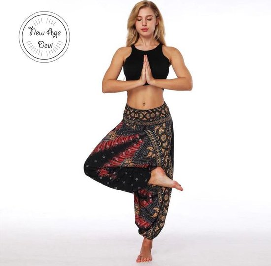 New Age Devi yoga pants loose women high waist