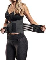 SeriousFit® - Waiste Trainer - Unisex – Sportief - Zweetband Buik - Afvallen – Training – Gewicht – Afslankband – Sauna Belt – Sweat Belt – Buikband – Fitness – Hardlopen  – Sportband –- Lengte 80 cm - Breedte 21cm