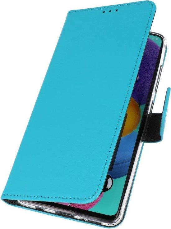 Bestcases Pasjeshouder Telefoonhoesje Oppo Find X2 Lite - Blauw