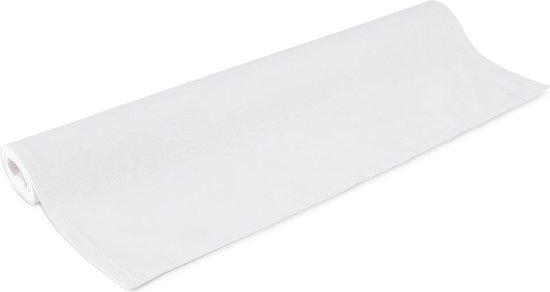 Tafelloper, 50x140cm, Wit, Katoen, Treb Basic