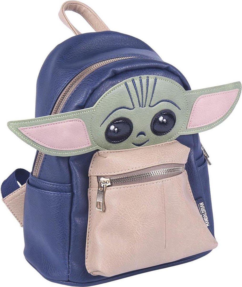 Disney Star Wars The Mandalorian - Rugzak - Baby Yoda - Hoogte 22cm