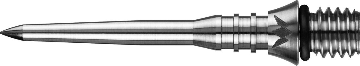 Mission Titan Pro Grooved Conversion Tips - Silver - 30mm