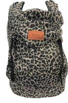 ByKay - Draagzak - Click Carrier Classic - Furry Leopard - Grey