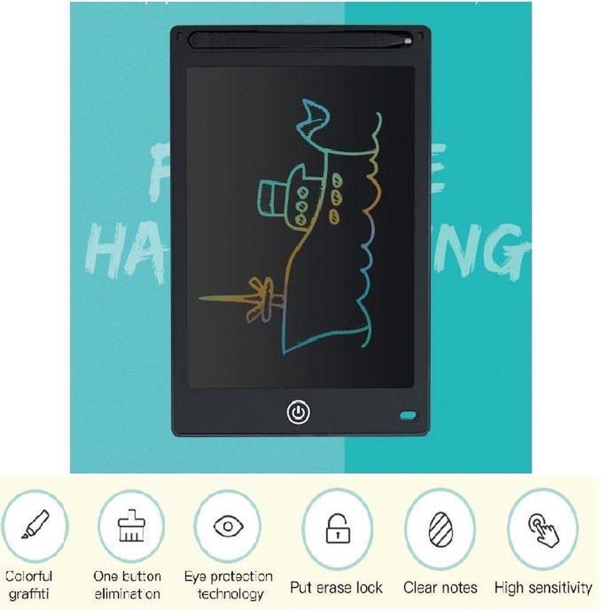 Tablet 10 Inch Zwart Lcd Schrijven Elektronische Digitale Graphics Tekentafel Doodle Pad Met Stylus Pen Draagbare Gift Voor iemand