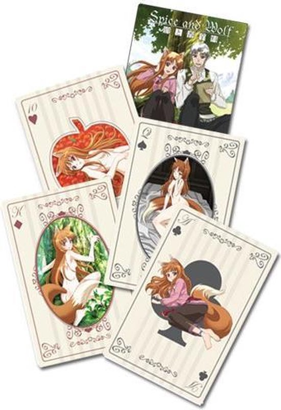 Thumbnail van een extra afbeelding van het spel Spice & Wolf Speelkaarten