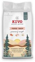 Kivo Petfood graanvrije hondenbrokken - Verse Zalm - 4 kg - met vis, groenten, fruit & kruiden!