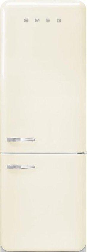 Koelkast: Smeg FAB32RCR5 combi-koelkast Vrijstaand Creme 331 l A+++ Rechtsdraaiend, van het merk Smeg