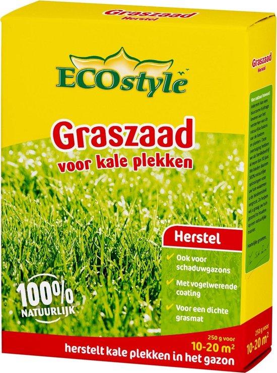 Ecostyle Graszaad-Extra - 250 G - Doorzaaien Kale Plekken - Voor 10 Tot 20 M2
