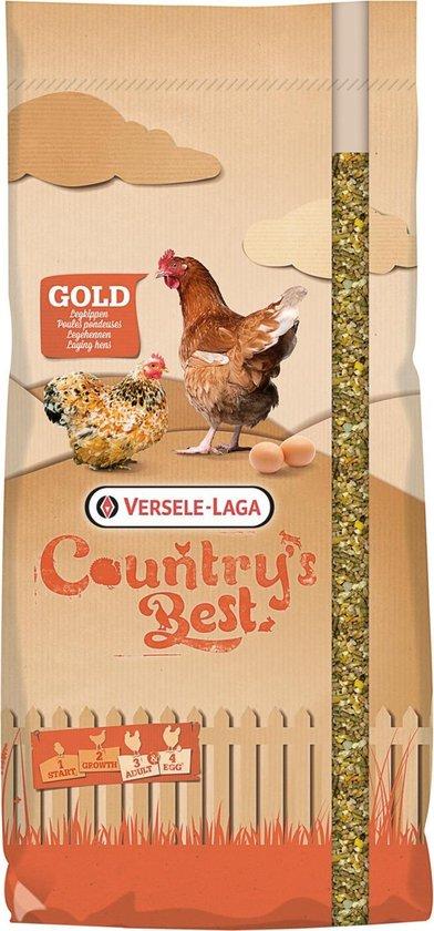 Versele-Laga Country's Best Gold 4 Mix kip-graan met legkorrel - kippenvoer - 20 kg