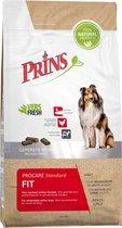 Prins procare standard fit 15kg geperste hondenvoeding