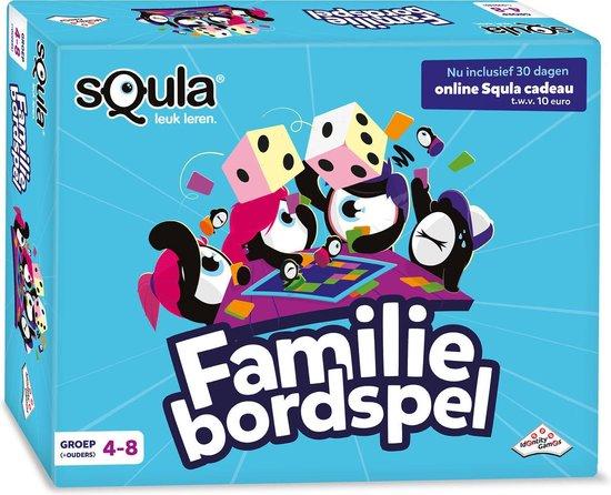 Afbeelding van het spel Squla Familiebordspel - voor groep 4-8 + ouders - Educatief Bordspel Leerzaam Speelplezier