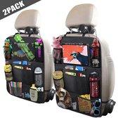 Afbeelding van Toddly Stevige Autostoel Organizer met Tablet Houder - Set van 2 - Auto Stoel Organiser