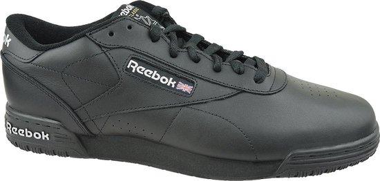 Reebok Exofit Clean Logo INT AR3168, Mannen, Zwart, Skate Sneakers, maat: 47 EU