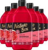 Nature Box Pomegranate Shampoo 6x 385 ml - Voordeelverpakking