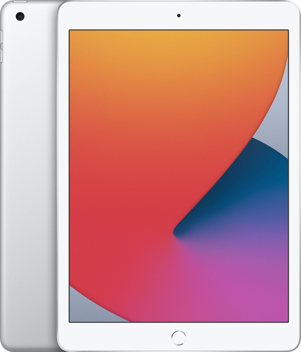 Apple iPad (2020) – 10.2 inch – WiFi – 128GB – Zilver