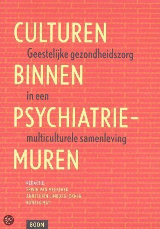 Culturen Binnen Psychiatrie Muren