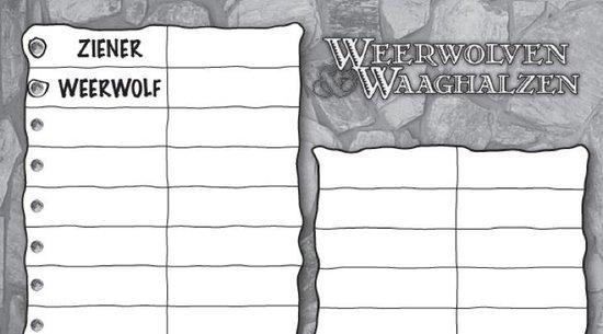 Afbeelding van het spel Weerwolven & Waaghalzen scoreblocks