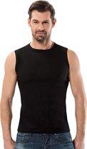 Mouwloos shirt - 5Pack - Zwart - Maat L
