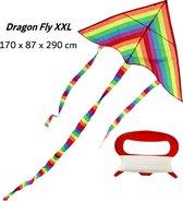 Dragon Fly Staartvlieger Regenboog 170 x 87 x 290 cm