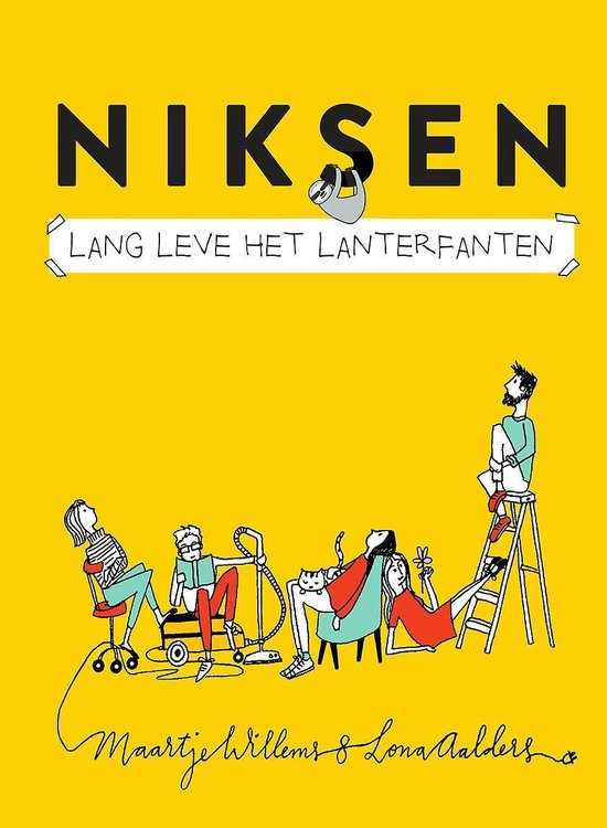 Boek cover Niksen van Maartje Willems (Hardcover)