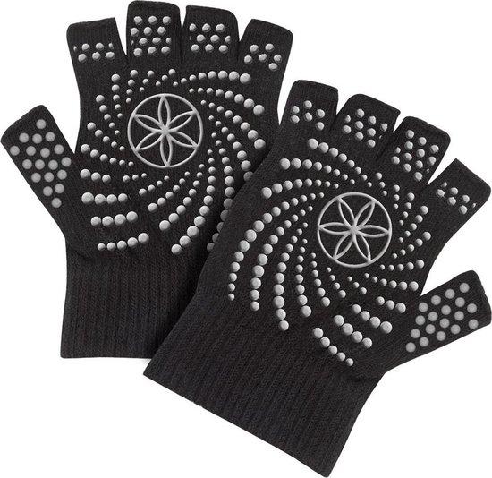 Gaiam Grippy Gloves Sporthandschoenen Unisex - Zwart - One size