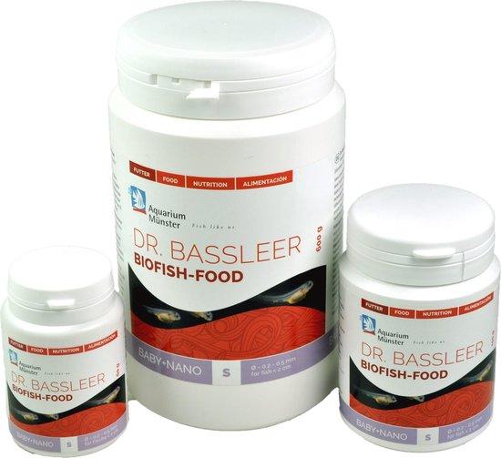 Baby + Nano - Voer voor Nano vissen en Baby vissen - Dr. Bassleer BioFish Food 60 gr