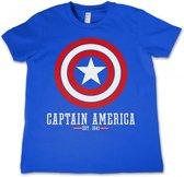 CAPTAIN AMERICA - T-Shirt KIDS Logo Blue (4 Years)