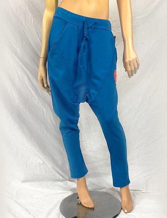 Jtb-store Baggy Jogging Sportbroek in de kleur Blauw maat M