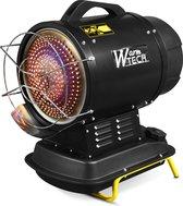 WARM TECH Petroleumkachel infrarood - Diesel - 20 Kw met Thermostaat