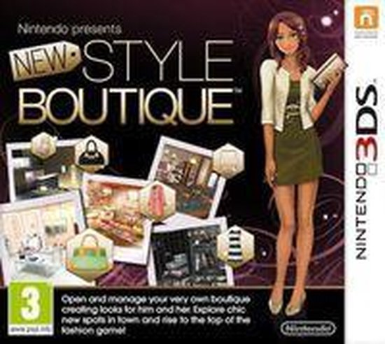 New Style Boutique - 2DS + 3DS - Nintendo