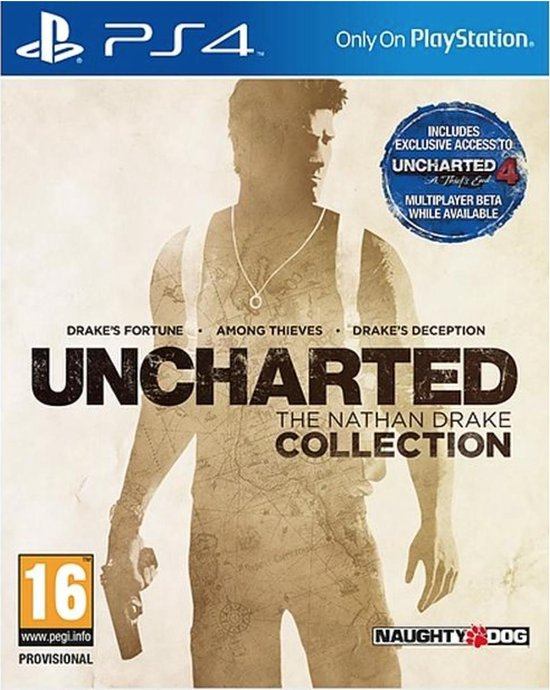 Uncharted - The Nathan Drake Collection - PS4 - Sony