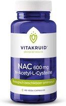 Vitakruid / NAC 600mg n-acetyl-l-cysteine - 60 vcaps