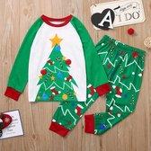 kerst pyjama dames - maat M