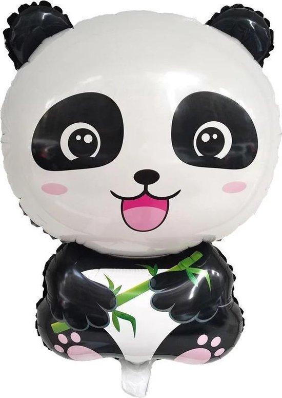 Panda ballon - Kinder Cadeau - Kado kind - Grote feest ballon - Dieren ballon - Verrassing