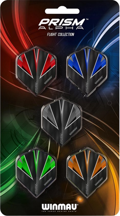 Afbeelding van het spel Winmau Prism Alpha dartflights - 5 sets