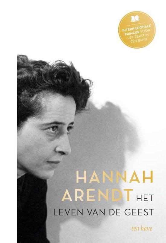 Boek cover Het leven van de geest van Hannah Arendt (Hardcover)