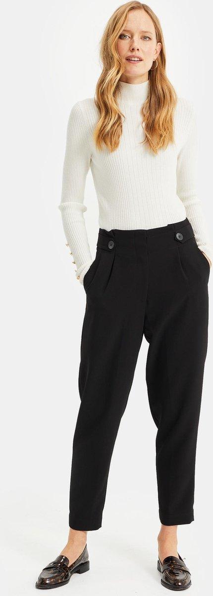 WE Fashion Dames high waist pantalon