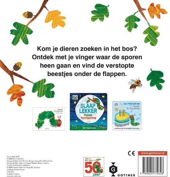 Flapjesboek Rupsje Nooitgenoeg Zoek en Vind