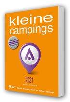 Boek cover ORANJE Gids Kleine Campings 2021 van Uitgeverij Interdijk (Paperback)