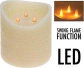 LED Kaars Groot Realistic 3 swing flames