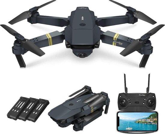 Trendtrading Pocket drone met Camera - Full HD Dual Camera - 30 minuten vliegtijd - Wifi FPV - Foto - Video - Quadcopter - Fly more combo