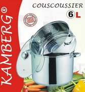 Couscous pan 3 in 1 Couscoussier - Roestvrij staal 6L