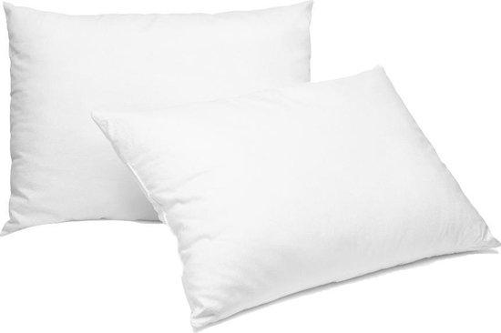 Homéé hoofdkussen Classic 60x70cm - Hotel kwaliteit - 100% Perkal katoen  - 2 stuks