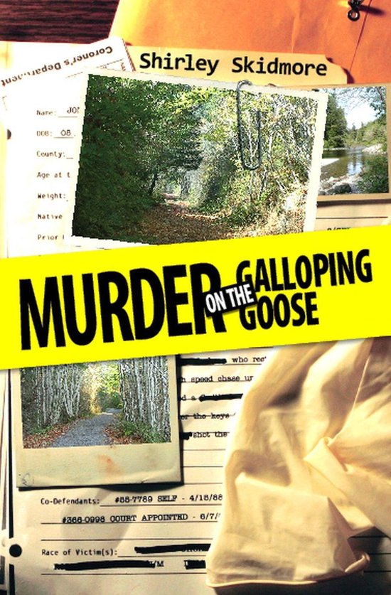 Omslag van Murder on the Galloping Goose