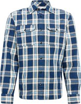Jj30cpo Shirt L/s 12177746 Navy Blazer/comfort Fit