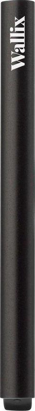 Wallix® Pasjeshouder - Aluminium - Uitschuifbaar - Unisex Creditcardhouder - RFID & NFC Beveiliging - Zwart