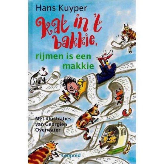 Boek cover Kat In T Bakkie, Rijmen Is Een Makkie van Hans Kuyper met illustraties van