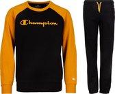 Champion Trainingspak - Maat XS  - Unisex - zwart,geel