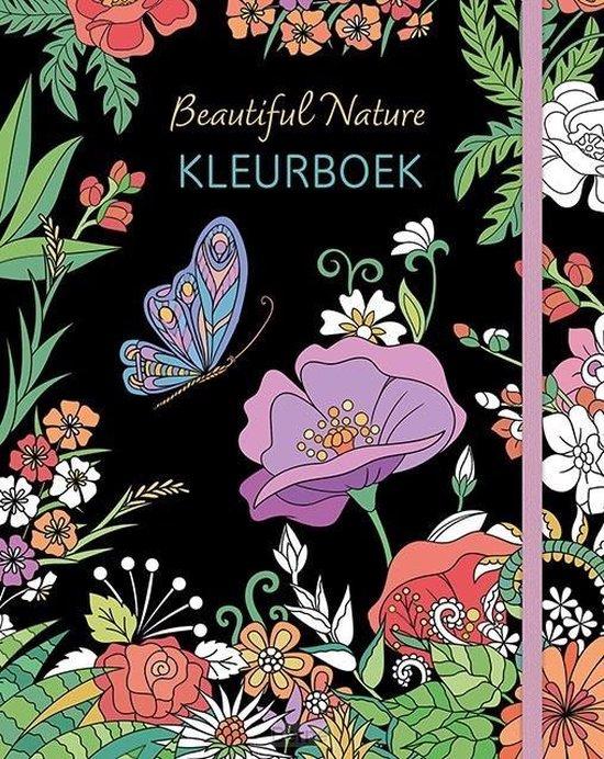 Afbeelding van Deltas Kleurboek Beautiful Nature Junior A4 Karton Wit speelgoed