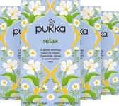 Pukka Relax Thee - 4 x 20 zakjes